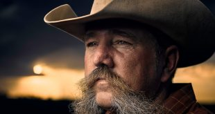 Rancher in Western Kansas. Photographed by Scott Stebner for his Kansas Farmer documentary.