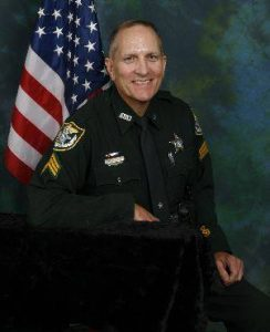 Retired Alachua County Sheriff's Office Sgt. Keith Faulk. (Photo courtesy Alachua County Sheriff's Office)