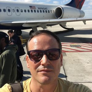 Gene Messina had just arrived in Ft. Lauderdale, Florida, on Delta Flight 2012 as people were being evacuated from the terminal due to a reported shoogin on Friday, January 6, 2017.
