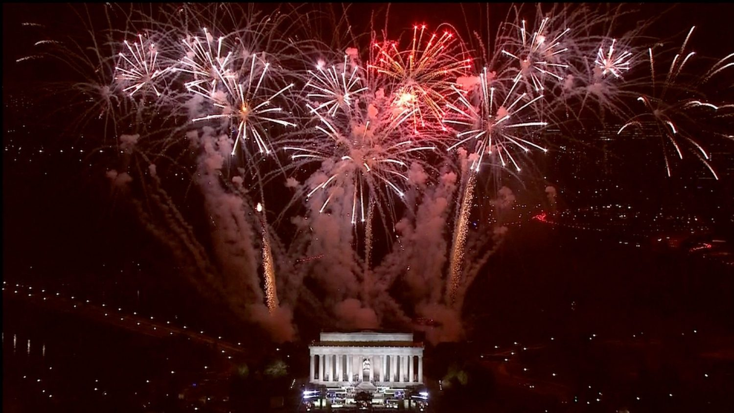 "Speaking at a pre-inauguration concert at the Lincoln Memorial, which featured performances by Lee Greenwood, Toby Keith and 3 Doors Down, Trump told the crowd he vowed to be a president ""for all our people."""