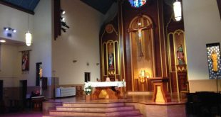 Saint Augustine Catholic Church off of University Avenue (WUFT News)