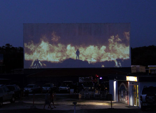 Ocala Florida Drive In Movie Theater