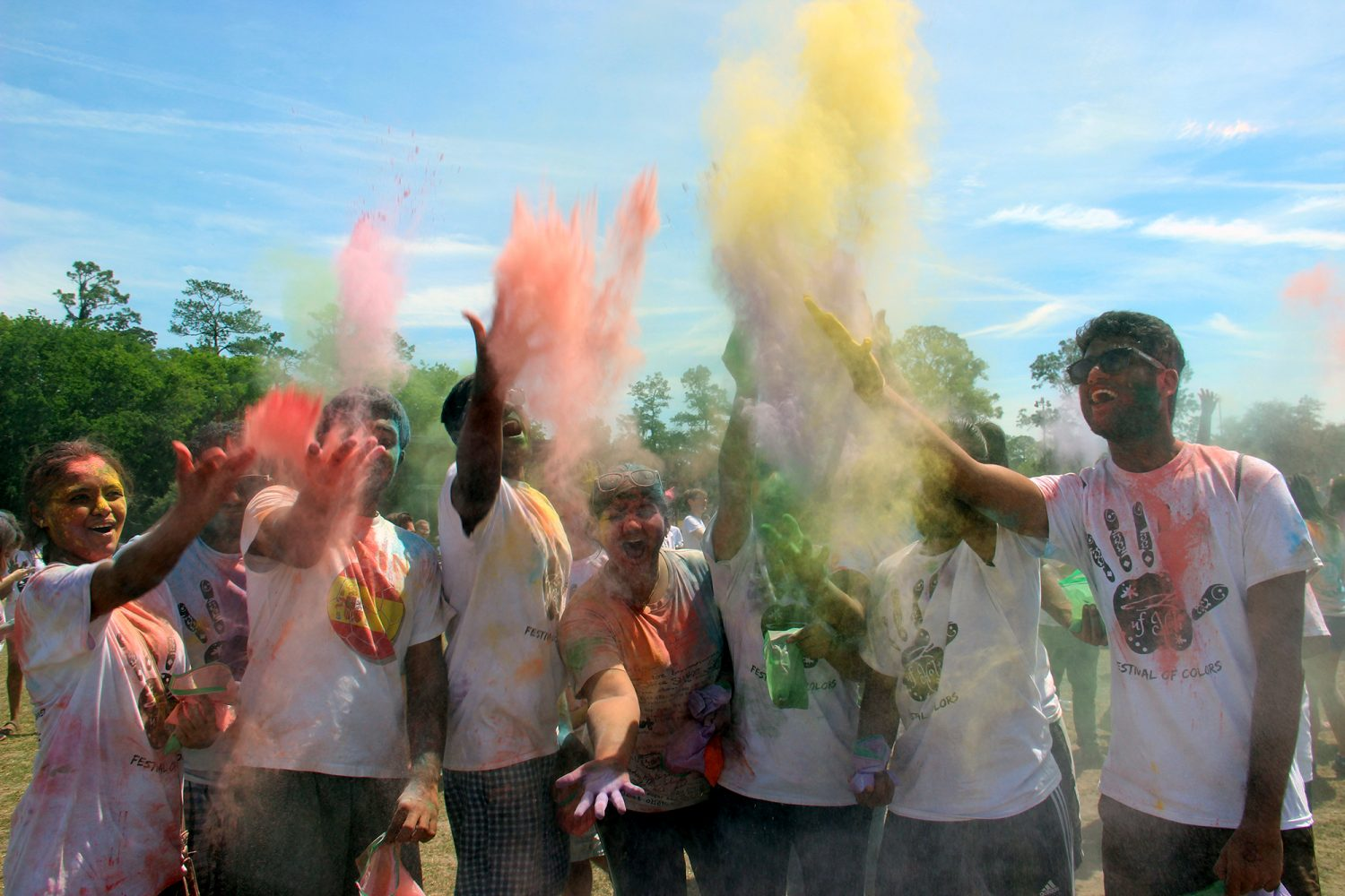Holi News: In Photos: Holi Festival Brings Color To UF Campus
