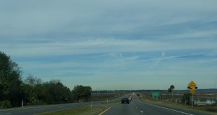 U.S. 441 along Paynes Prairie is currently part of a 12-mile reconstruction project.