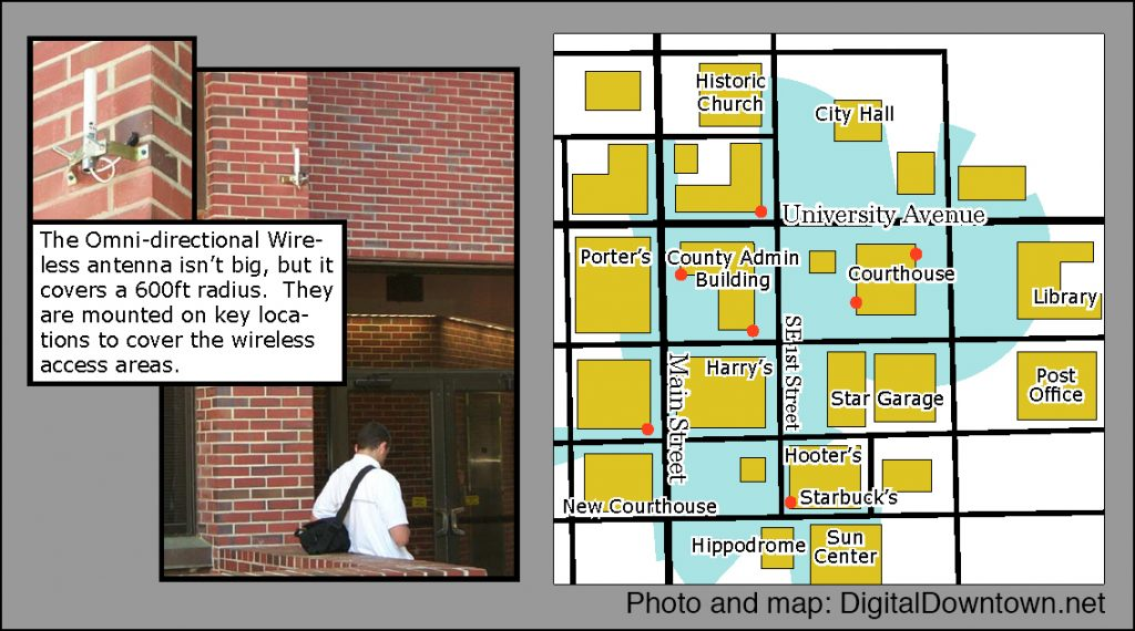 Campus Map Ufl.Public Wi Fi Canopy To Connect Campus Downtown Through Uf City