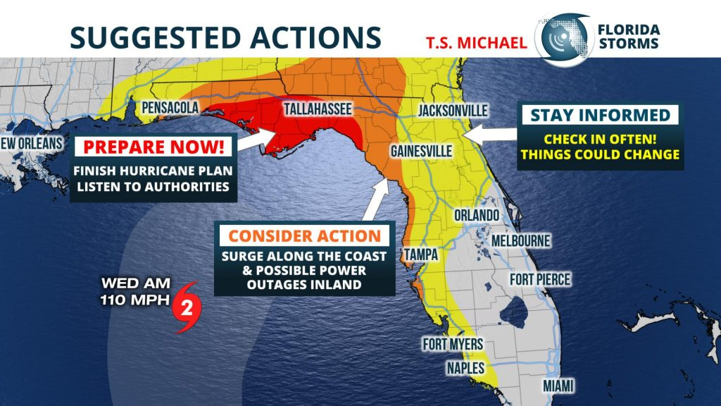 Levy County Prepares For Tropical Storm Michael S Landfall Wuft News