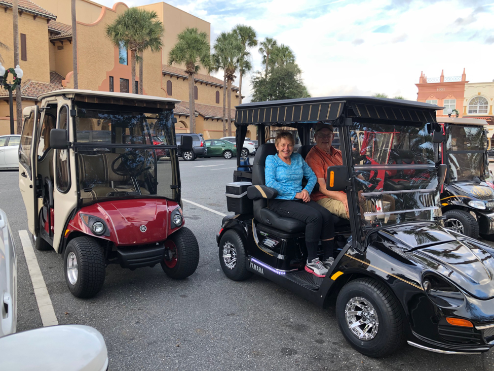 In The Villages Home To Thousands Of Golf Carts Golf Cart Seat Belts Are Rare Wuft News