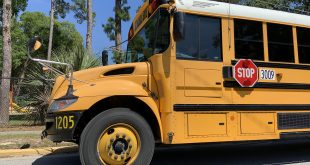 Unfortunately, a school bus will not be able to drive around to different community locations this year due to COVID-19 restrictions.