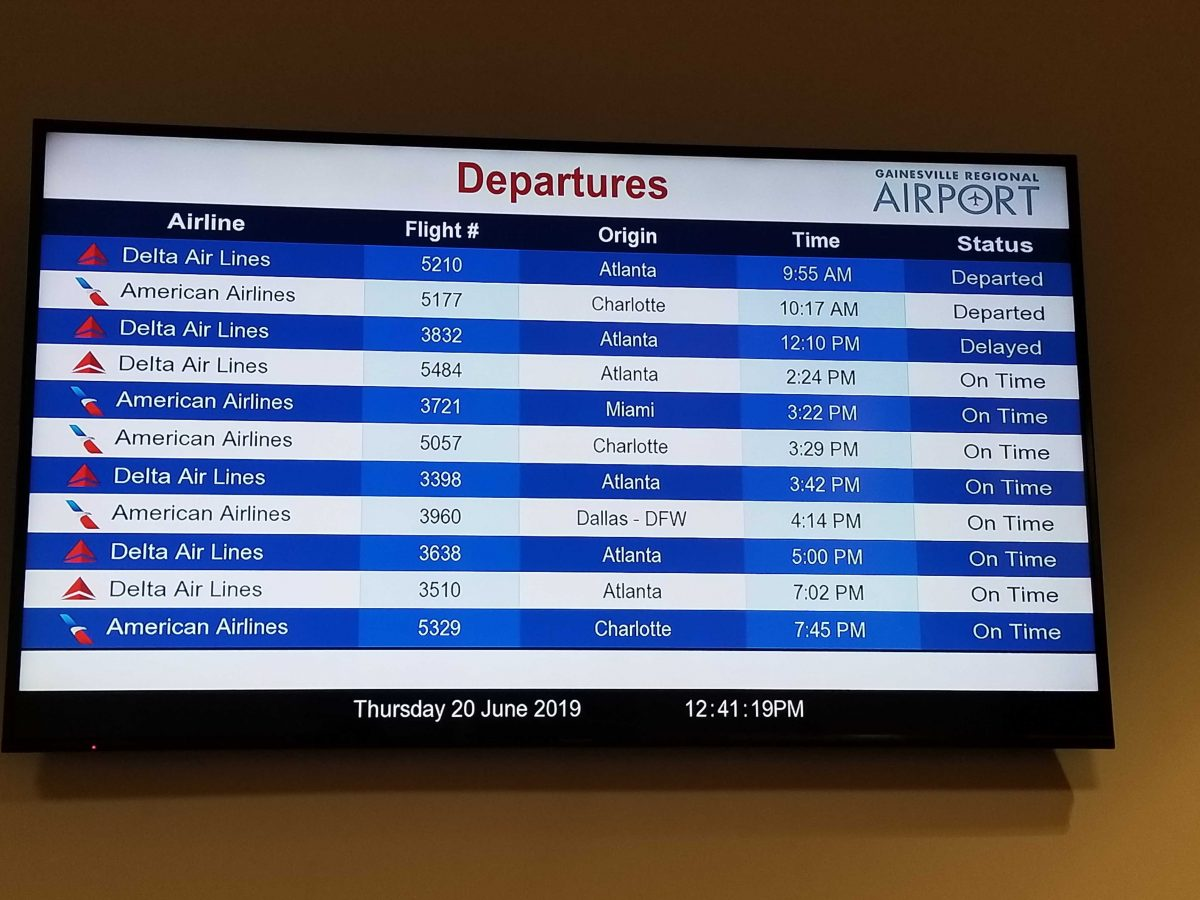 Untold Florida How Do Delays At Gainesville S Airport