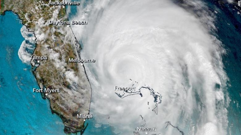 Hurricane Dorian Leaves Terrible Damage And Stranded