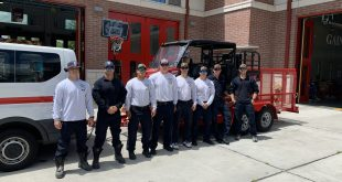 Members of Gainesville's Fire Rescue Team that traveled to Surfside.