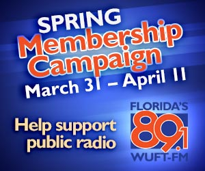 Support Florida's 89.1 WUFT-FM
