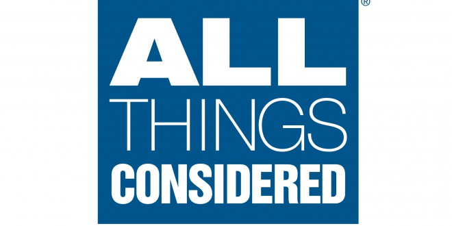 All Things Considered – Monday through Friday at 4 p.m.