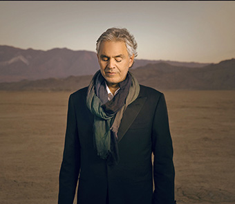 GREAT PERFORMANCES: Andrea Bocelli – Cinema – Wednesday at 8 p.m.
