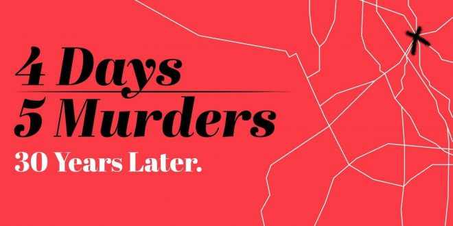 Four Days, Five Murders – Tonight at 9 p.m.